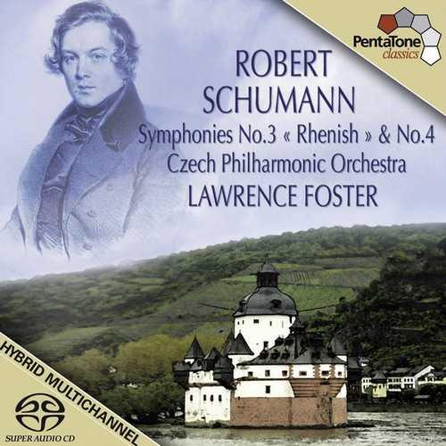 Foster: Schumann - Symphonies no.3 & 4 (24/96 FLAC)