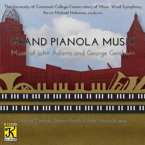Grand Pianola Music. Music of John Adams and George Gershwin (24/48 FLAC)