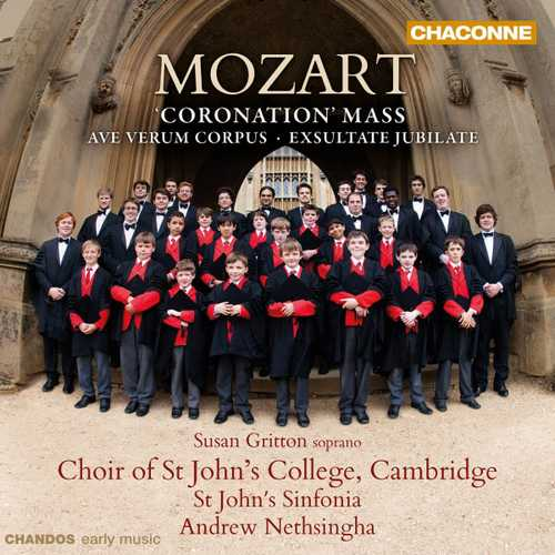 Gritton, Nethsingha: Mozart - Coronation Mass (24/96 FLAC)