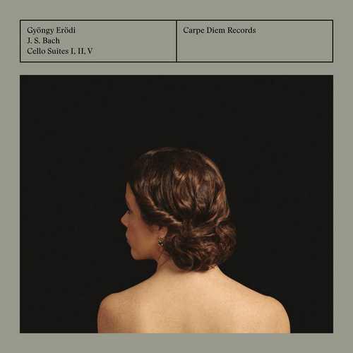Gyöngy Erödi: Bach - Cello Suites 1, 2 & 5 (24/192 FLAC)