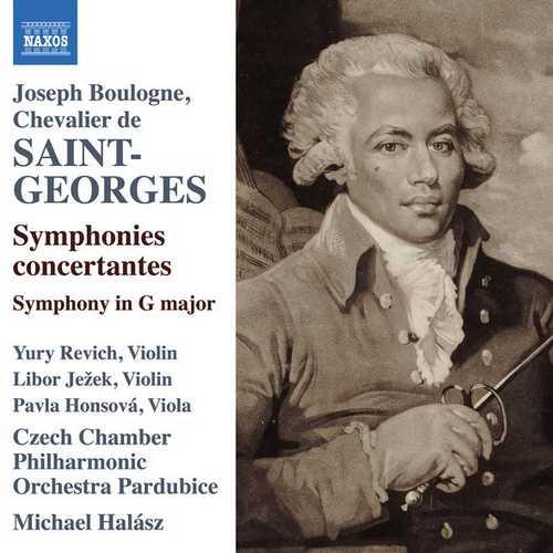 Halász: Saint-Georges - Symphonies Concertante (24/96 FLAC)