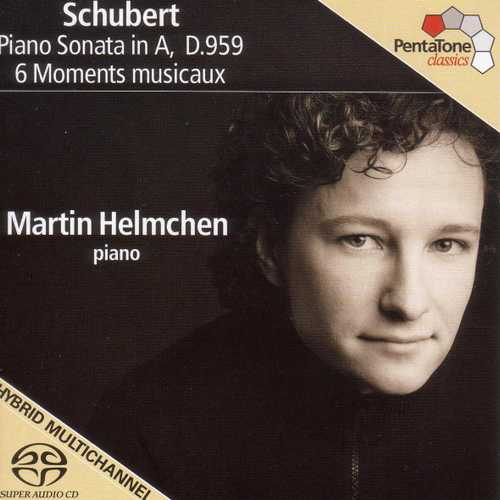 Helmchen: Schubert - Piano Sonata D959, 6 Moments Musicaux (24/96 FLAC)