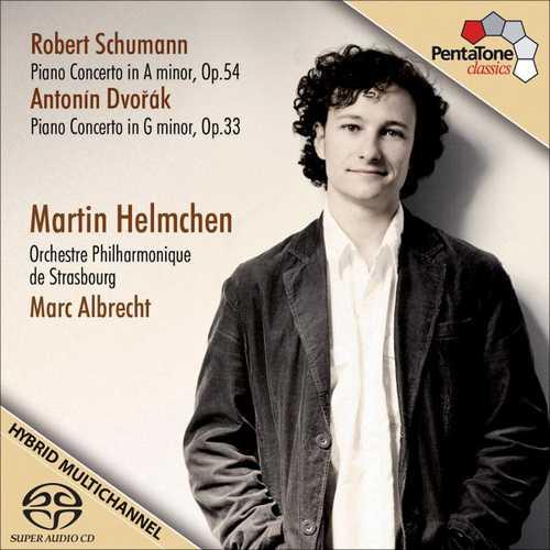 Helmchen, Albrecht: Schumann - Piano Concerto op.54; Dvořák - Piano Concerto op.33 (24/96 FLAC)