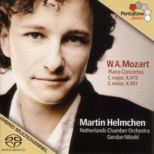 Helmchen, Nikolić: Mozart - Piano Concertos no.13 & 24 (24/96 FLAC)