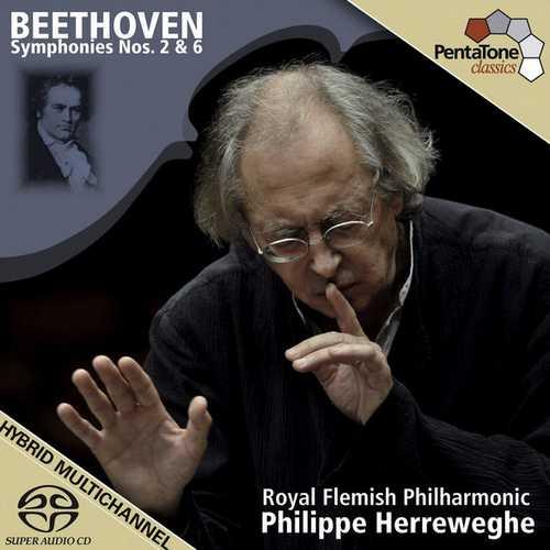 Herreweghe: Beethoven - Symphonies no.2 & 6 (FLAC)