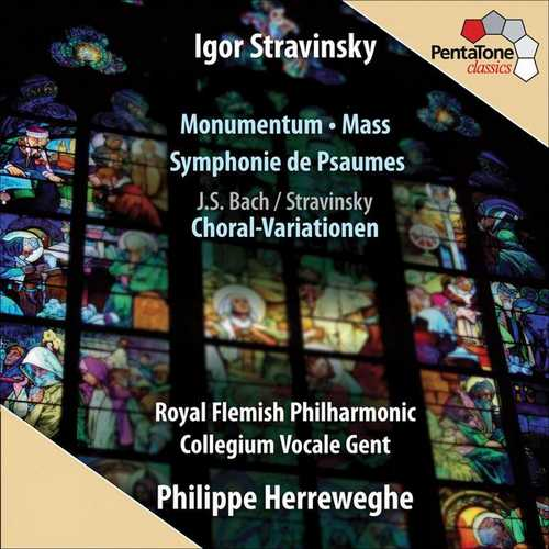 Herreweghe: Stravinsky - Monumentum, Mass, Symphony of Psalms, Choral Variations (24/96 FLAC)
