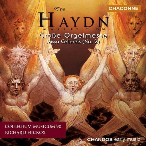 Hickox: Haydn - Große Orgelmesse, Missa Cellensis (24/96 FLAC)