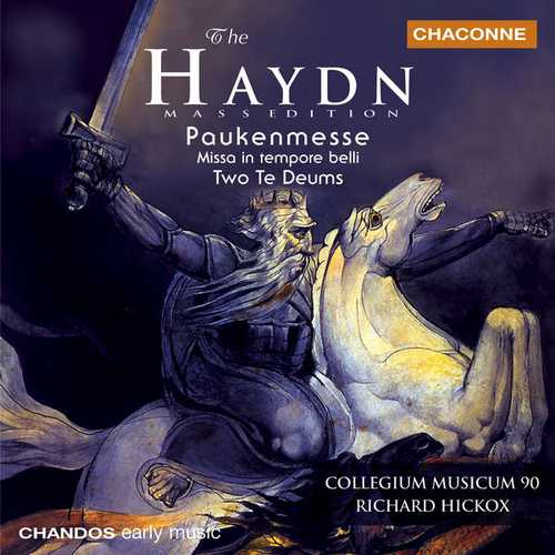 Hickox: Haydn - Paukenmesse Missa, Two Te Deums (FLAC)