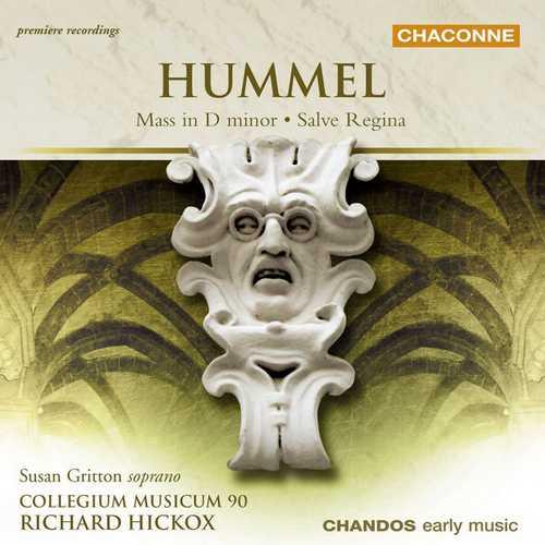 Hickox: Hummel - Mass in D minor, Salve Regina (24/96 FLAC)