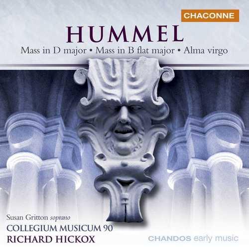 Hickox: Hummel - Masses Alma Virgo (24/96 FLAC)