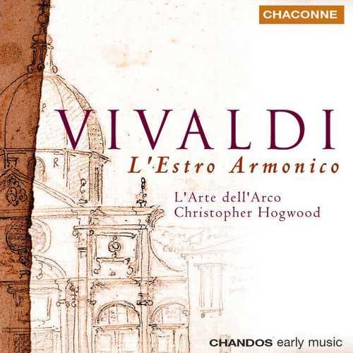 Hogwood: Vivaldi - L'Estro Armonico op.3 (24/44 FLAC)