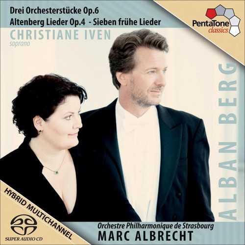 Albrecht, Iven: Berg - Drei Orchesterstücke, Altenberg Lieder op.4, Sieben frühe Lieder (FLAC)
