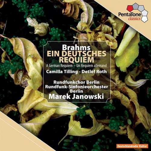 Janowski: Brahms - Ein Deutsches Requiem (24/96 FLAC)