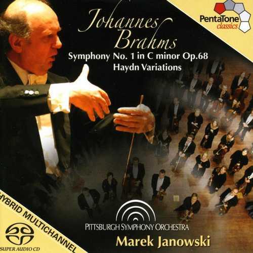 Janowski: Brahms - Symphony no.1, Haydn Variations (24/96 FLAC)