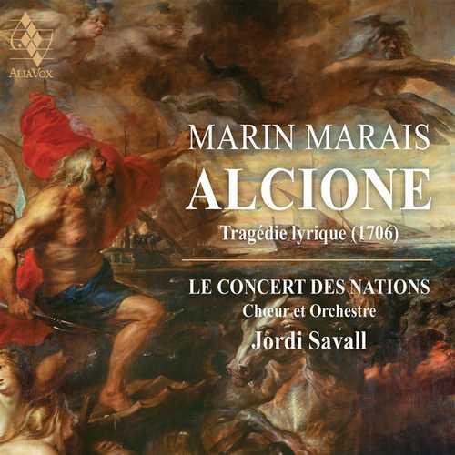 Savall: Marais - Alcione. Tragedie Lyrique 1706 (24/88 FLAC)