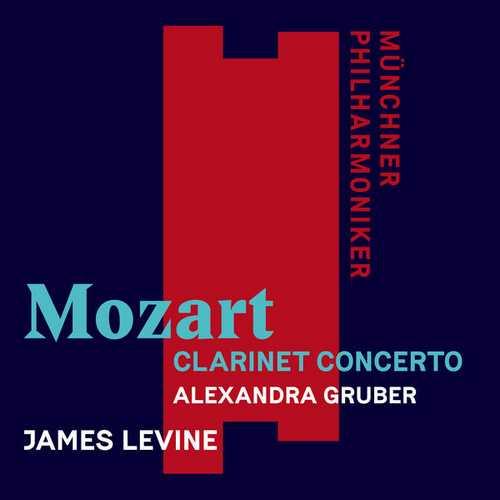 Levine: Mozart - Clarinet Concerto (24/48 FLAC)
