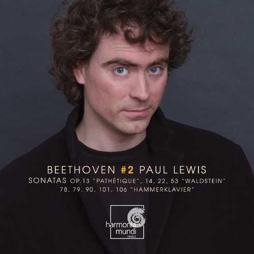 Paul Lewis: Beethoven vol.2 (FLAC)