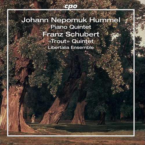 Libertalia Ensemble: Hummel - Piano Quintets; Schubert - Trout Quintet (FLAC)