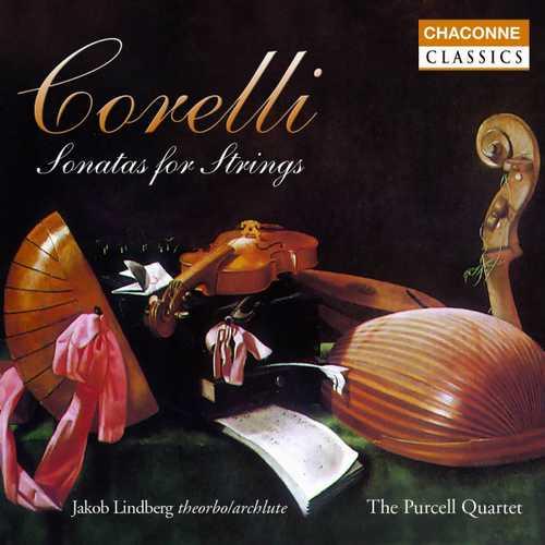 Lindberg, Purcell Quartet: Corelli - Sonatas for Strings (FLAC)