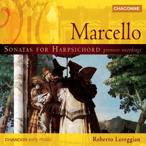 Loreggian: Marcello - Harpsichord Sonatas (24/44 FLAC)