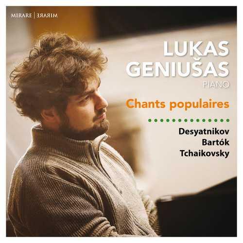 Lukas Geniušas - Chants Populaires (24/96 FLAC)