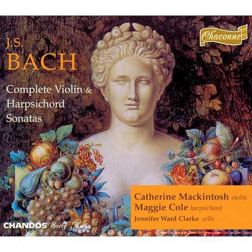 Mackintosh, Ward-Clarke, Cole: Bach - Complete Violin & Harpsichord Sonatas (FLAC)