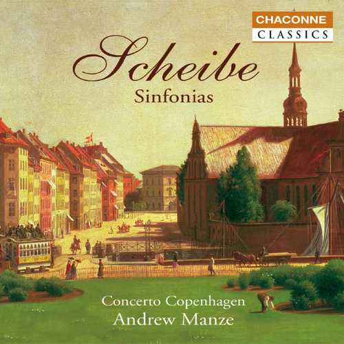 Manze: Scheibe - Sinfonias (FLAC)