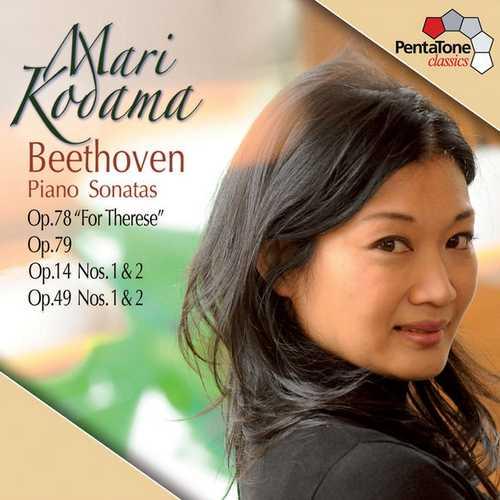 Kodama: Beethoven - Piano Sonatas op.78, 79, 14, 49 (24/96 FLAC)