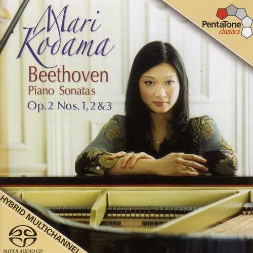 Kodama: Beethoven - Piano Sonatas no.1-3 (24/96 FLAC)