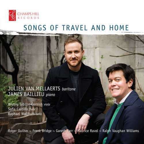 Mellaerts, Baillieu - Songs of Travel and Home (24/96 FLAC)