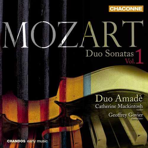 Duo Amadè: Mozart - Duo Sonatas vol.1 (FLAC)