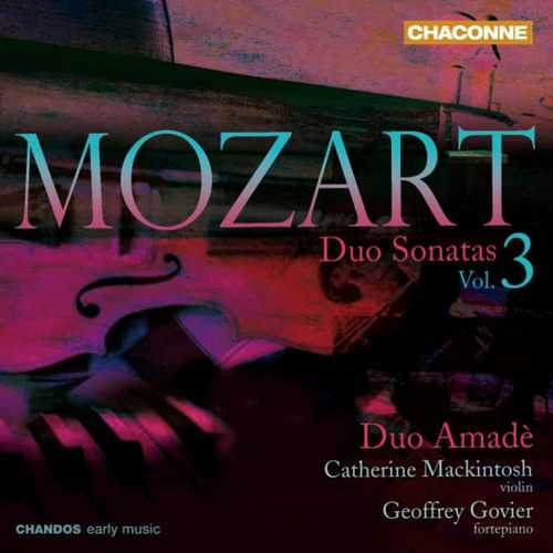 Duo Amadè: Mozart - Duo Sonatas vol.3 (FLAC)