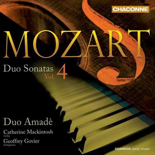 Duo Amadè: Mozart - Duo Sonatas vol.4 (24/96 FLAC)