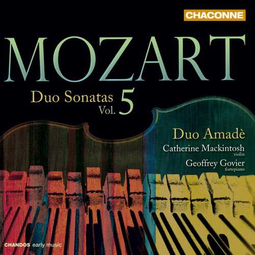 Duo Amadè: Mozart - Duo Sonatas vol.5 (24/96 FLAC)