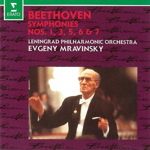 Mravinsky: Beethoven - Symphonies no.1, 3, 5, 6, 7 (FLAC)