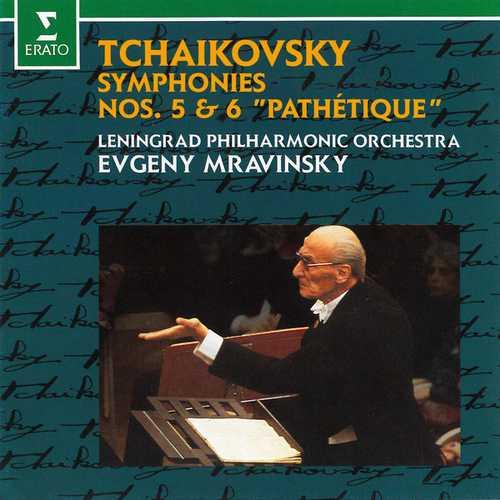 "Mravinsky: Tchaikovsky - Symphonies no.5 & 6 ""Pathétique"" (FLAC)"