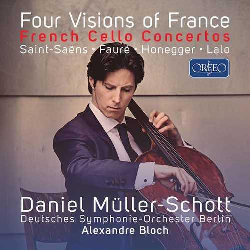 Daniel Müller-Schott - Four Visions of France (24/96 FLAC)