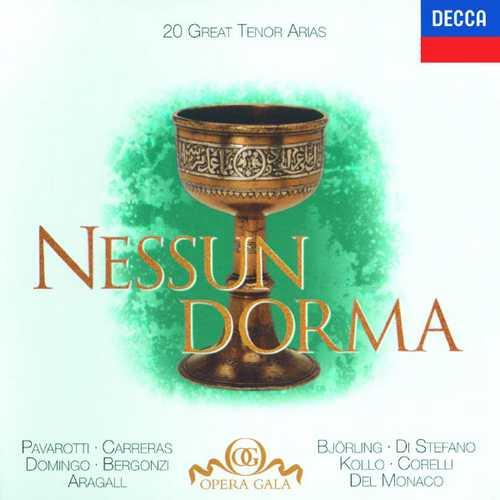 Nessun Dorma: 20 Great Tenor Arias (FLAC)