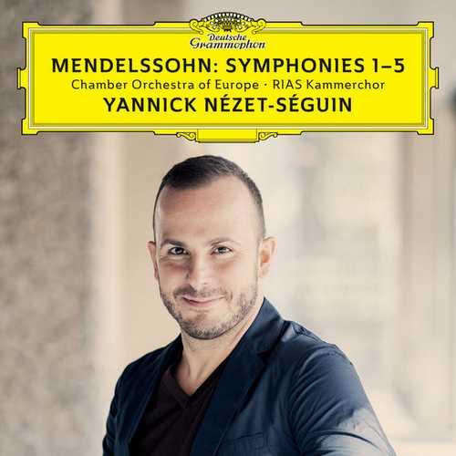 Nézet-Séguin: Mendelssohn Symphonies no.1-5 (24/96 FLAC)