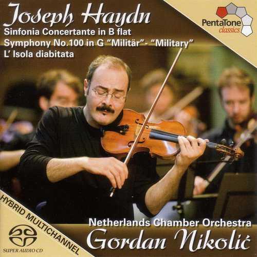"Nikolić: Haydn - Sinfonia Concertante, Symphony no.100 ""Military"", L'Isola Diabitata (24/96 FLAC)"