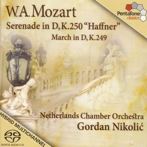 "Nikolić: Mozart - Serenade in D ""Haffner"", March in D (24/96 FLAC)"