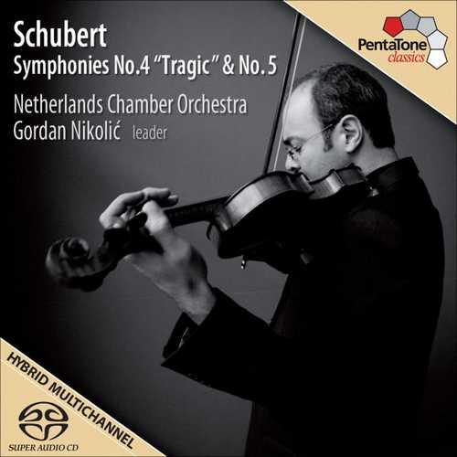 """Nikolić: Schubert - Symphonies no.4 """"Tragic"""" & no.5 (24/96 FLAC)"""
