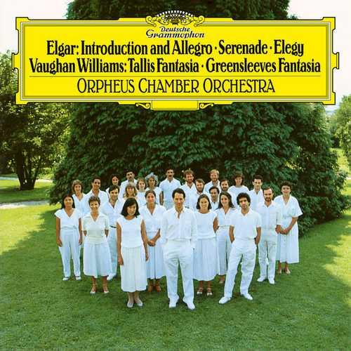 Elgar - Introduction and Allegro, Serenade, Elegy; Vaughan Williams - Tallis Fantasia, Greensleeves Fantasia (FLAC)