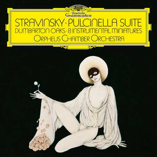 Stravinsky - Pulcinella Suite, Dumbarton Oaks, 8 Instrumental Miniatures (FLAC)