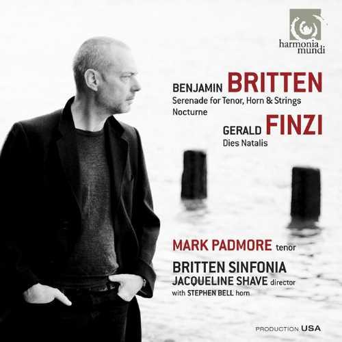 Padmore, Shave: Britten - Serenade for Tenor, Horn & Strings, Nocturne; Finzi - Dies Natalis (24/88 FLAC)