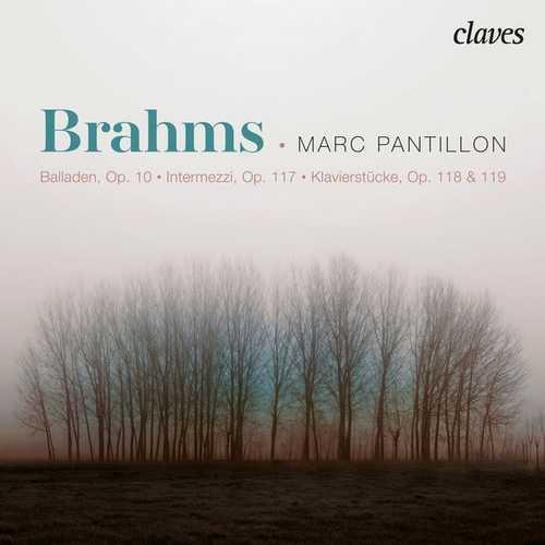 Pantillon: Brahms - Balladen op.10, Intermezzi op.117, Klavierstücke op.118 (24/96 FLAC)