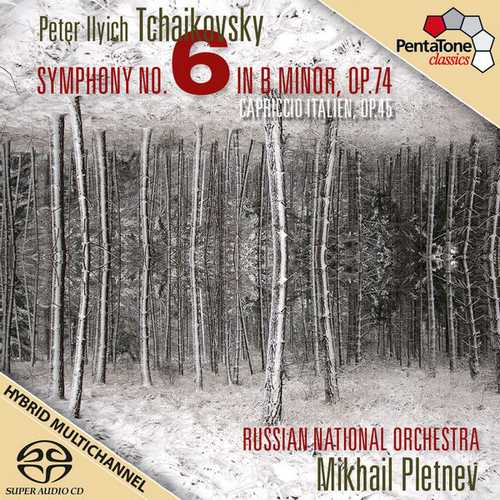 Pletnev: Tchaikovsky - Symphony no.6, Capriccio Italien (24/96 FLAC)