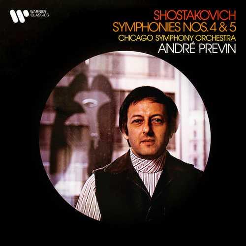 Previn: Shostakovich - Symphonies no.4 & 5 (FLAC)