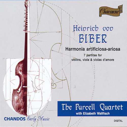 Purcell Quartet: Biber - Harmonia Artificiosa-Ariosa (FLAC)