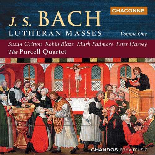 Purcell Quartet: Bach - Lutheran Masses vol.1 (FLAC)